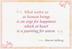 Salzberg Quote
