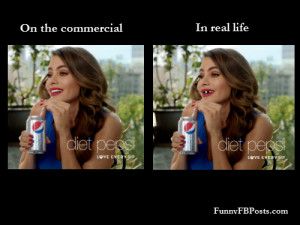 Diet Pepsi Commercial!