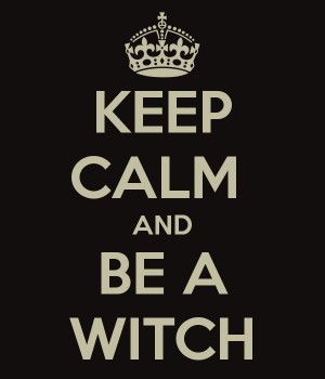 halloween, keep calm, witch quote