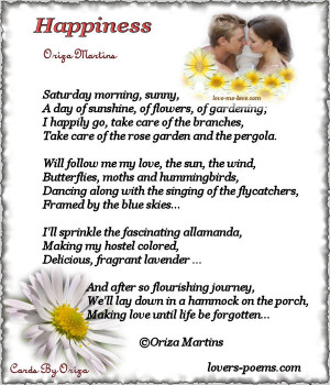 Happiness (Oriza Martins)