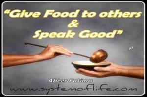 Sayingsgive Foodtootherandspeakgood 20120508 1173021963