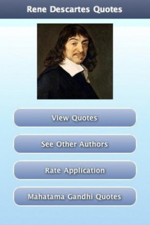 View bigger - Rene Descartes Quotes for Android screenshot