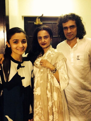 Alia Bhatt Rekha And Imtiaz