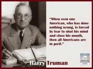 Harry Truman - now there was a good Democrat president.