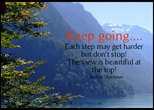 Keep going quotes...