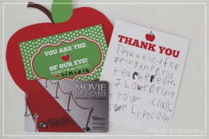 You are the apple of our eye {Free Teacher Appreciation Printable} by ...