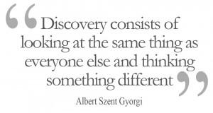Discovery – Albert Szent Gyorgi
