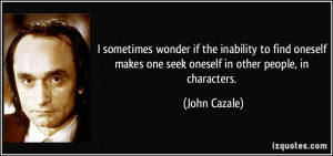 John Cazale Quote
