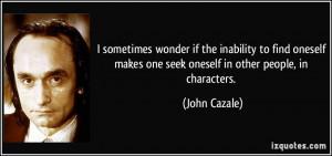 John Cazale Quote