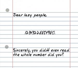 "25 Random ""Sarcastic"" Funny Short Letters"