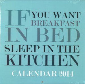 2014 calendars 2014 square calendar funny quotes $ 8 00 nzd