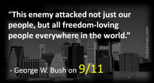 George W. Bush on 9/11