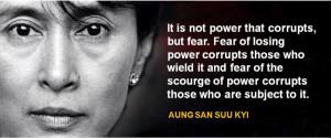Famous Speech Friday: Aung San Suu Kyi's