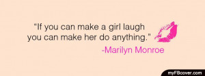 Make A Girl Laugh Facebook Cover Timeline Fb Picture