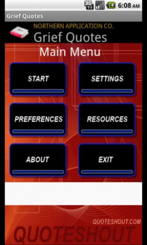 Ver maior - captura de tela Bible Quotes for Grief para Android