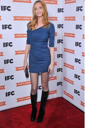 Heather Graham has been spotted wearing Catherine Malandrino ...