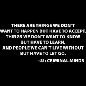 criminal minds jj quotes