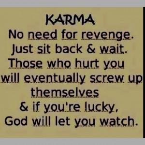 quote #karma #revenge