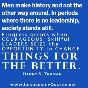 LeaderShip Quote of the day May 25 2012