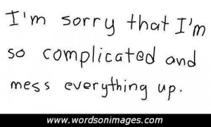 quotes about complicated love