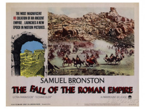 fall of the roman empire the 1964
