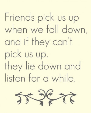 friendship quotations true friendship is when you walk into their ...