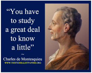 Baron De Montesquieu Quotes
