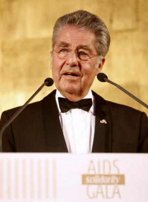 Heinz Fischer Austrian President Heinz Fischer holds a speech at the ...