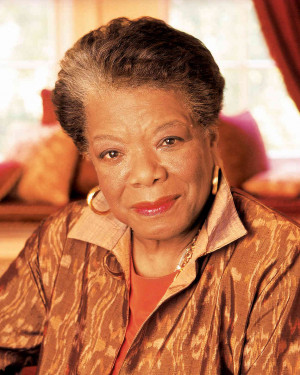 Maya Angelou is most famous for her poetry, autobiographies and essays ...