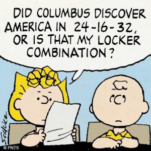 Funny Columbus Day Quotes