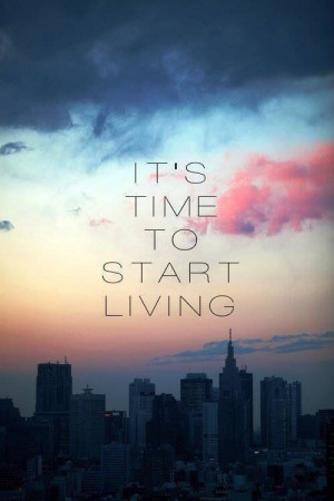 "Morning #Quote ""It's time to start living the life you've imagined ..."