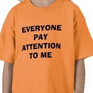 Understanding attention seeking behavior
