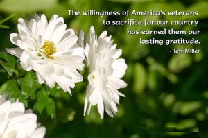 The willingness of America's veterans to sacrifice for our country has ...