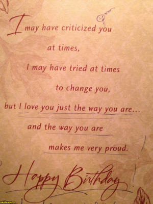 Best birthday card a conservative Christian mom could give to her gay ...