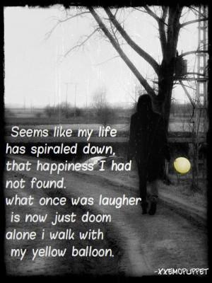 ... Emo #CryPicture Quotes, Sad Emo Quotes, Beautiful Sadness, Quotes Cut