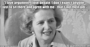 quote by Baroness Thatcher