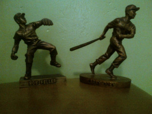 Give them all statues. Thome shouldn't get one before Lou Boudreau ...