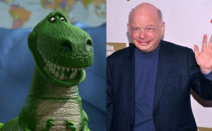 Wallace Shawn as Rex The Real Voices Behind Popular Pixar Film ...