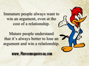 relationship quotes immature mature below to delete this immature ...