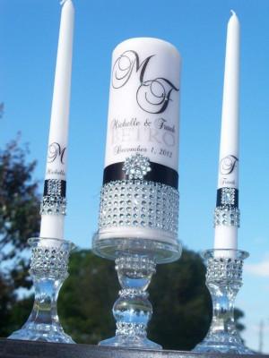 Black Tie Affair.....Unity Candle by JorgeiaWeddingEvent