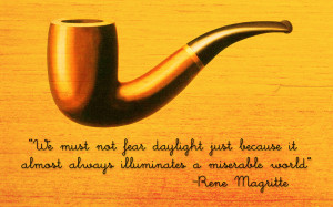 Fine Art Rene Magritte Quote