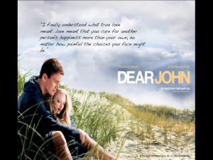 Dear John Love Quote Wallpaper Hd Images - Dear John Love Quote