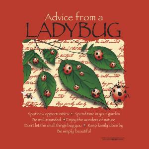 Advice From A Ladybug image