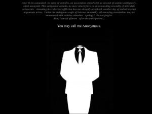 Anonymous Wallpaper 1024x768 Anonymous