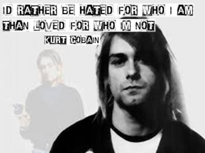 Kurt cobain citation english