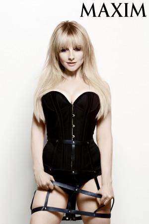 Melissa Rauch of Big Bang Theory Rocks Dominatrix-Like Leotard in Sexy ...