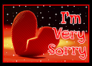 Sorry Quotes Greetings and Facebook Status