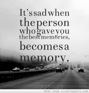 Sad When The Person Who...