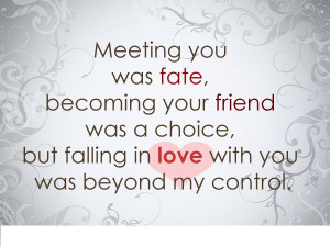 Top 10 Fate Love Quotes