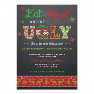 ugly_sweater_invitation_ugly_sweater_invite ...